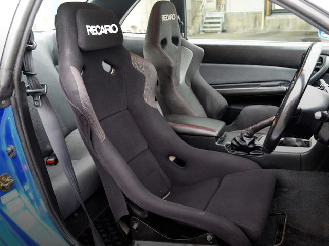RECARO FULL BUCKET SEATS DRIVER