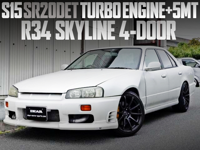 SR20DET TURBO SWAP R34 SKYLINE 4-DOOR