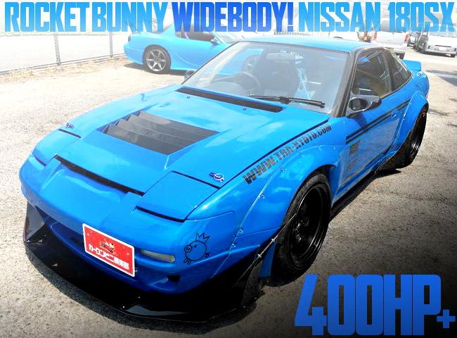 ROCKET BUNNY 180SX BLUE