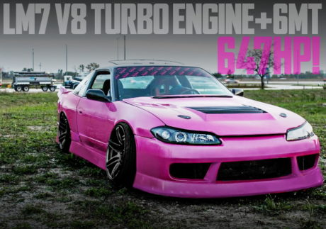 LM7 V8 TURBO ENGINE 6MT S15 FRONT END S13 240SX