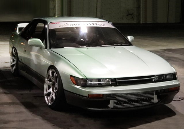 FRONT EXTERIOR S13 SILVIA LIGHT GREEN