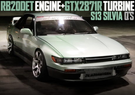 RB20DET SWAP GTX2871R TURBO S13 SILVIA QS