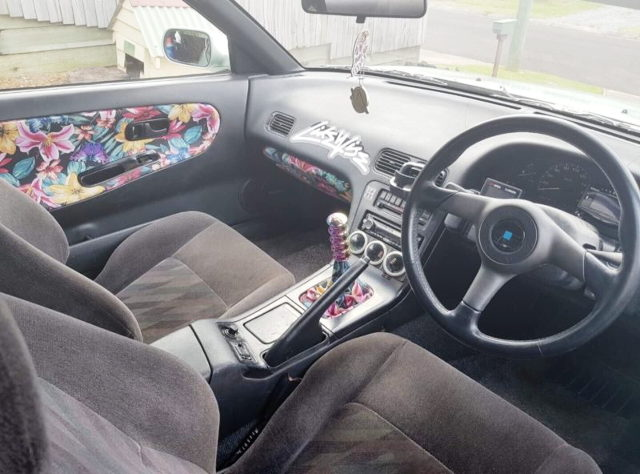 STICKER BOMB INTERIOR