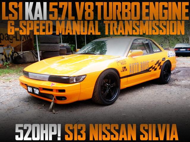 LS1 V8 TURBO S13 SILVIA