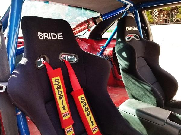 ROLLBAR AND BRIDE BUCKET SEATS