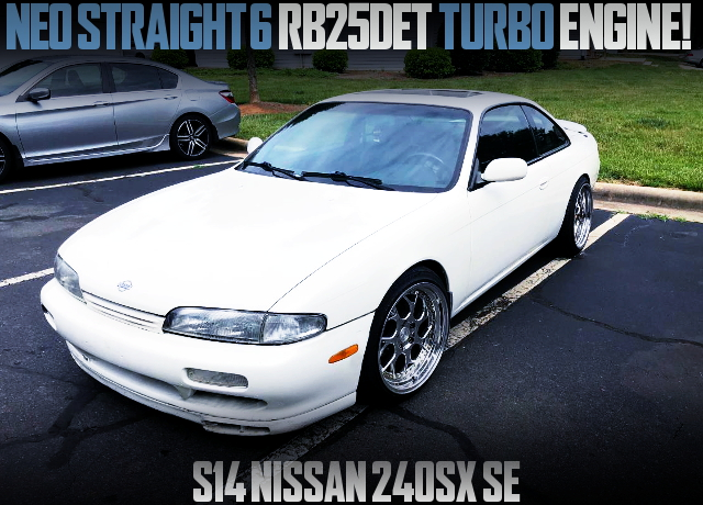 NEO STRAIGHT RB25 TURBO S14 ZENKI 240SX WHITE