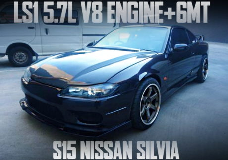 LS1 V8 ENGINE S15 SILVIA BLACK