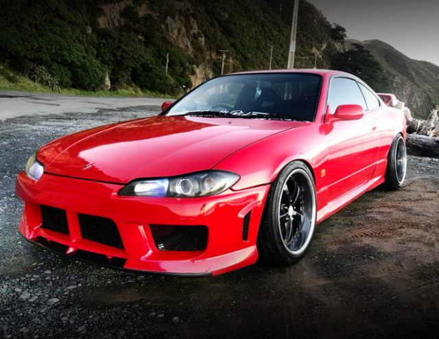 FRONT EXTERIOR S15 SILVIA RED