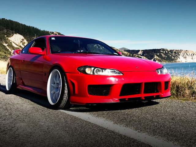 FRONT FACE S15 SILVIA RED