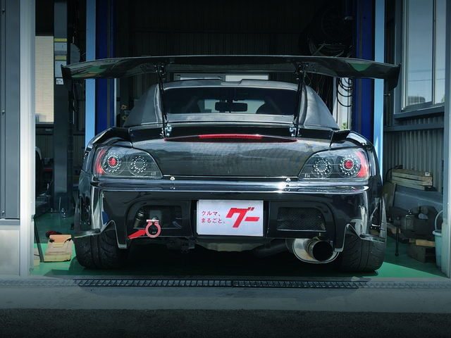 GT WING AND TAIL LIGHT S2000