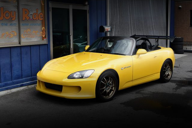 FRONT EXTERIOR AP1 S2000 YELLOW