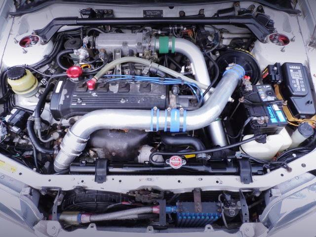 280HP 5E-FTE 1500cc TURBO ENGINE