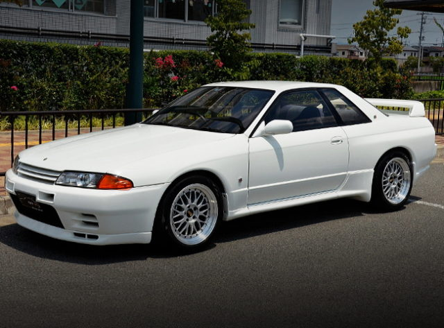FRONT EXTERIOR R32 SKYLINE GTR SS LIMITED VER