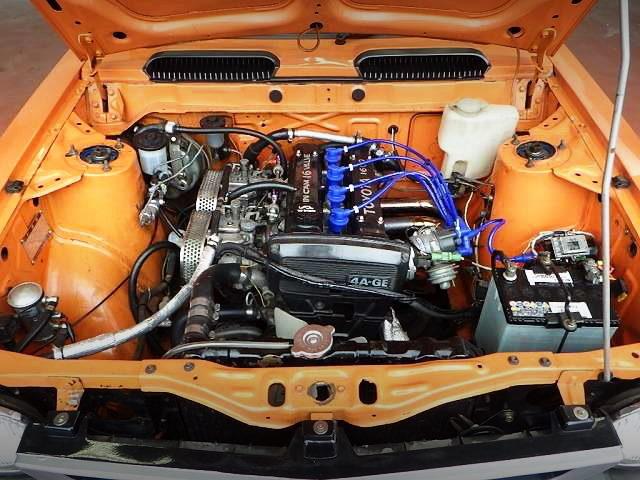 16-VALVE 4AG CARBS ENGINE