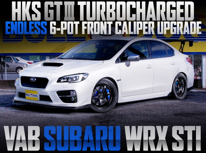 HKS GT3 TURBINE ENDLESS BRAKE VAB WRX STI