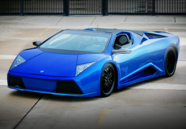 FRONT EXTERIOR VENDETTA FIERO GT BLUE
