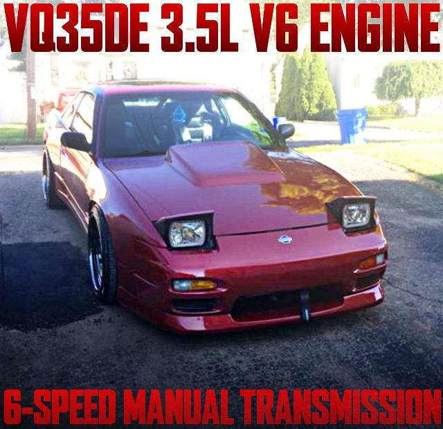 VQ35DE V6 ENGINE S13 240SX COUPE