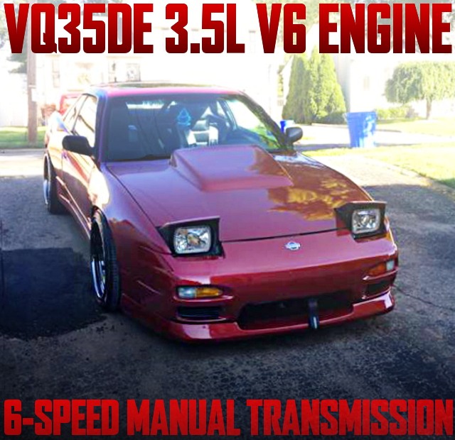 VQ35DE V6 ENGINE S13 240SX COUPE