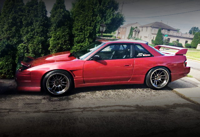 SIDE EXTERIOR S13 240SX
