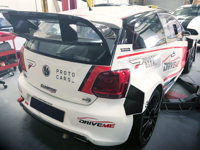 REAR EXTERIOR VW POLO MK5 WHITE