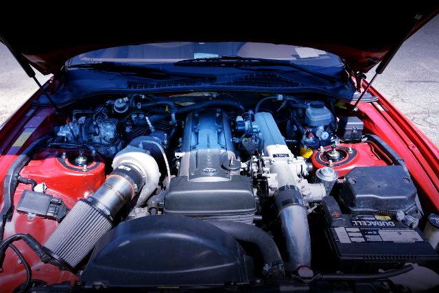 2JZ-GTE ENGINE GARRETT SINGLE TURBO