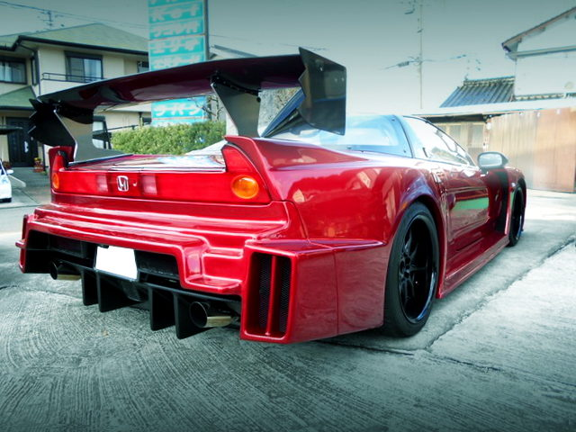REAR EXTERIOR ZERO FORCE NA1 NSX
