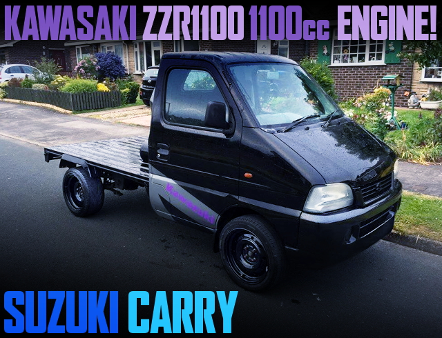 ZZR1100 BIKE ENGINE SWAP SUZUKI CARRY