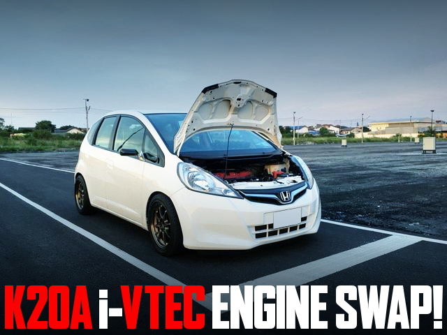 K20A i-VTEC ENGINE SWAP GE JAZZ