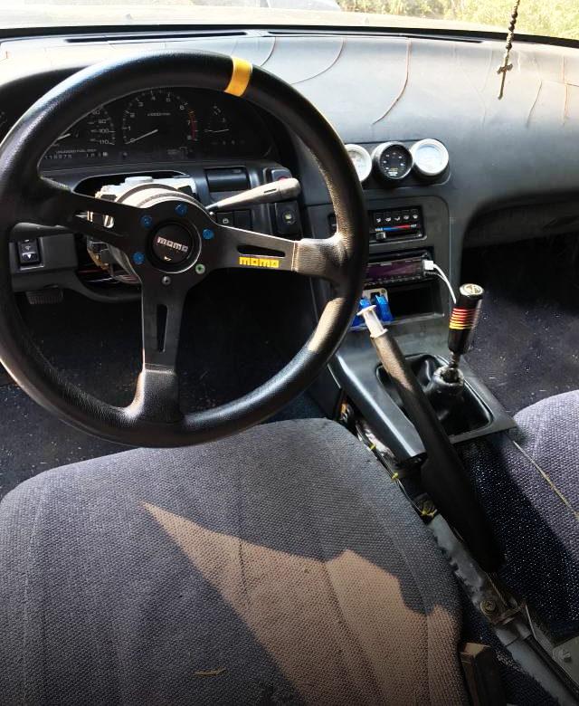 S13 240SX HATCHBACK INTERIOR