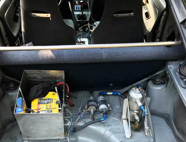 BATTERY TRUNK RELOCATE