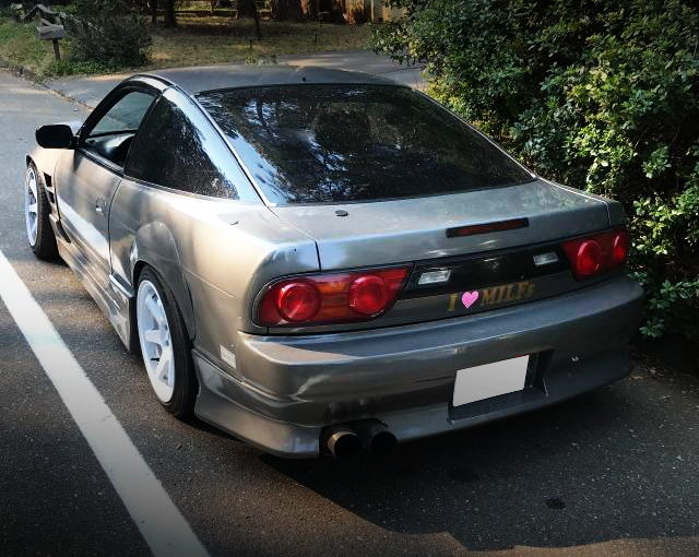 REAR EXTERIOR S13 240SX HATCH BACK