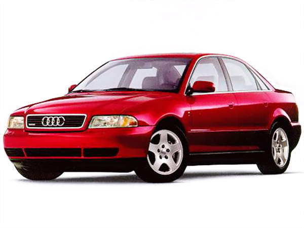 1st gen AUDI A4 RED