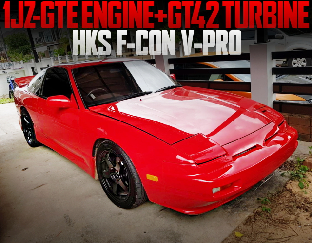 1JZ GT42 SINGLE TURBO S13 200SX