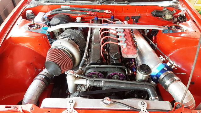 1JZ-GTE ENGINE WITH GT42 TURBO