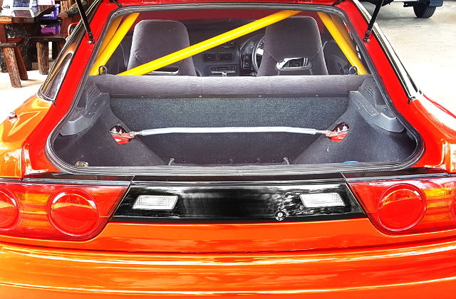 ROLLBAR FROM S13 200SX INTERIOR