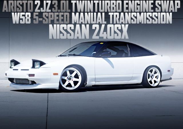 2JZ-GTE TWIN TURBO S13 240SX