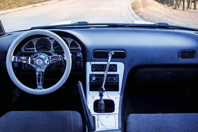 LEFT HAND DRIVE INTERIOR