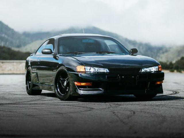 FRONT FACE S14 KOUKI 240SX BLACK