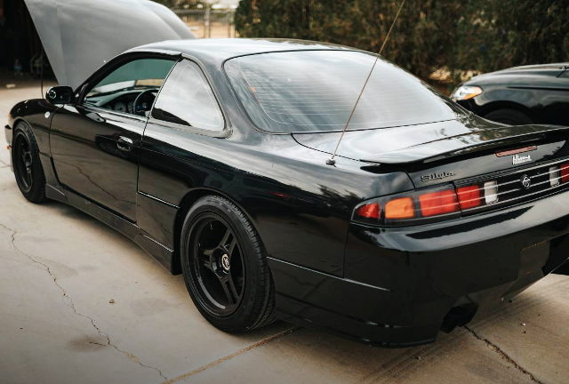 REAR SIDE EXTERIOR S14 240SX