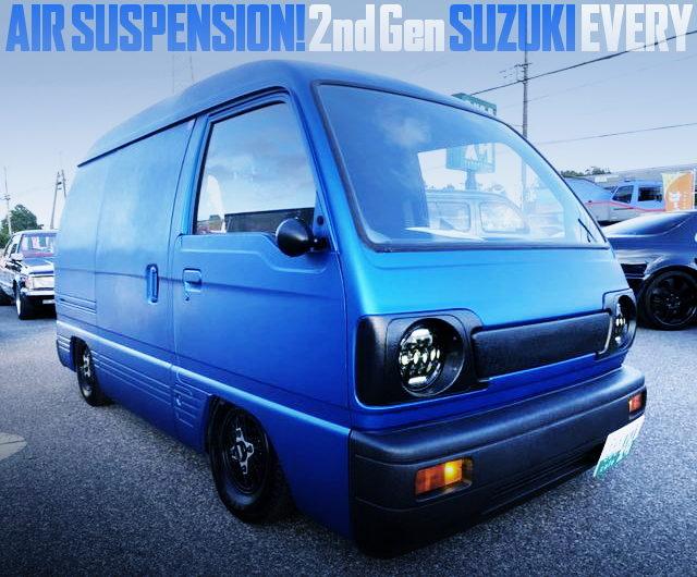 2nd Gen SUZUKI EVERY AIRSUSPENSION