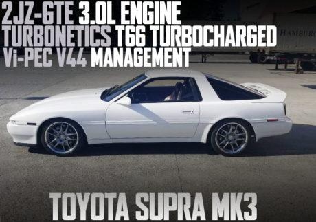 2JZ-GTE TURBONETICS T66 TURBO SUPRA MK3