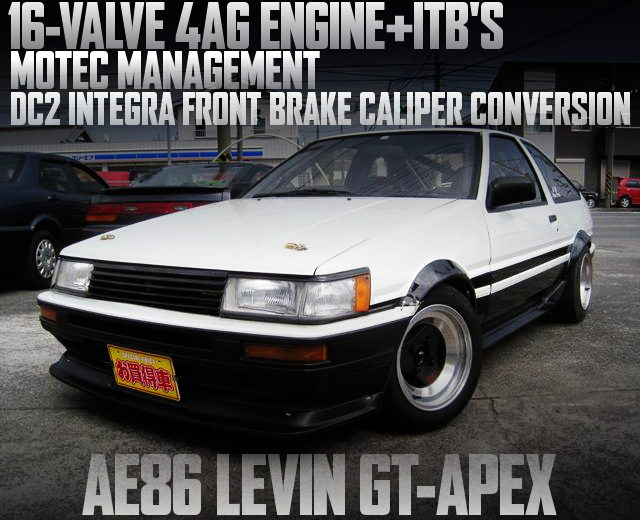 ITBS AND MOTEC AE86 LEVIN GT APEX