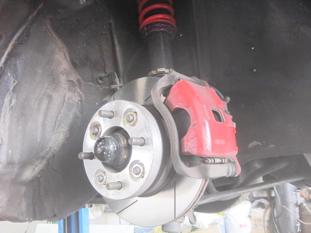 DC2 INTEGRA BRAKE CALIPER CONVERSION