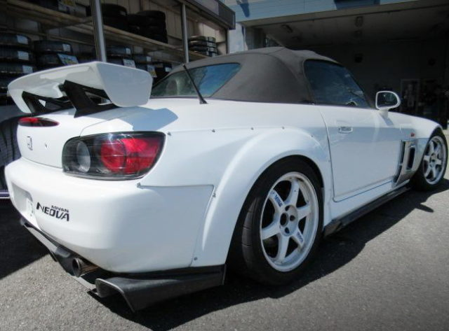 REAR EXTERIOR AP1 S2000 WIDEBODY WHITE