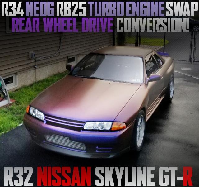 NEO6 RB25DET SWAP R32 SKYLINE GT-R