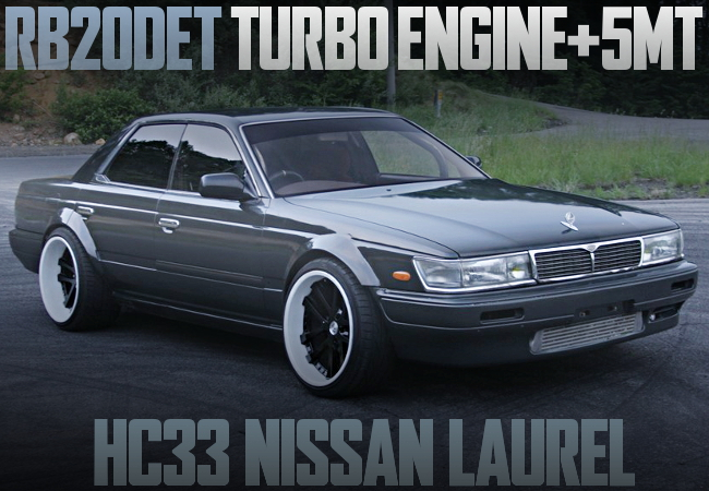 RB20DET SWAP 5MT HC33 LAUREL GRAY