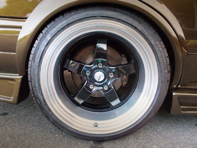 REAR STANCE MAGIC ALUMI WHEEL