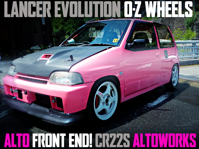 ALTO FRONT END CR22S ALTO WORKS