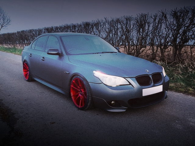 FRONT EXTERIOR E60 BMW 5-SERIES