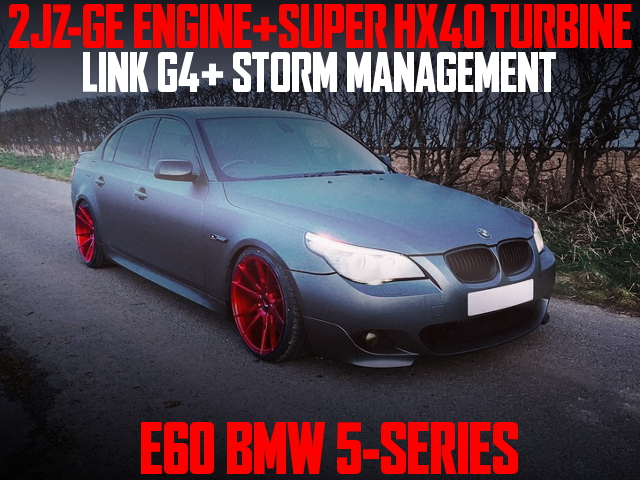 2JZ-GE HX40 TURBO E60 BMW 5-SERIES